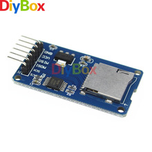 Micro SD Card & SDHC(high-speed card) Mini TF Card Reader Module Adapter SPI Interfaces with Level Converter Chip for Arduino(China)