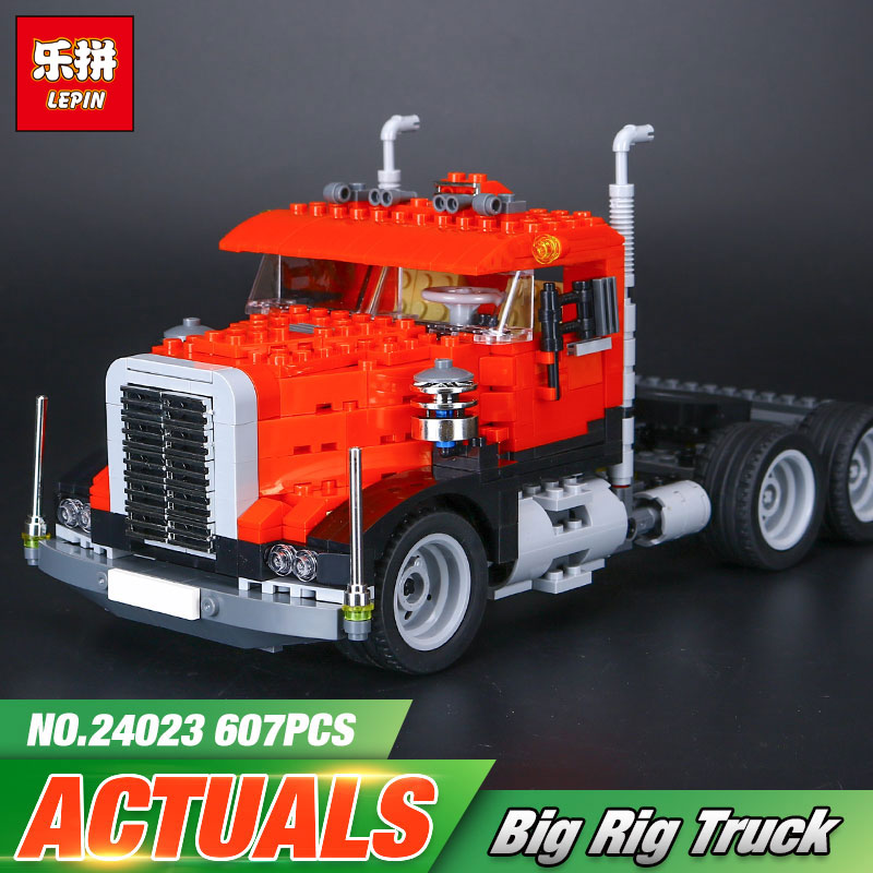 Lepin 24023 Creative Changing Series The Three in One Truck Set Educational Building Blocks Bricks Toys Model Children Gift 4955<br>