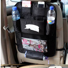 Large Auto Car Back Organizer Multifunction Hanging Storage Bags Organizer Car Seat Capacity Storage Pouch IC642188(China)