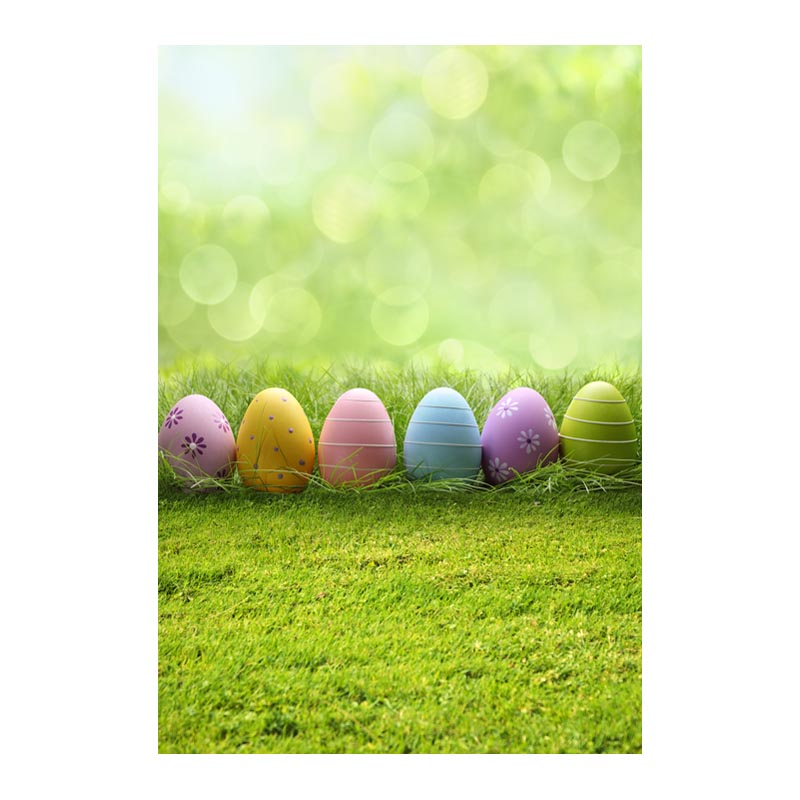 Thin fabric computer Printed photography background Easter colorful eggs photo backdrop for Studio 5X7ft GE-074<br><br>Aliexpress