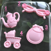 Hot Sale For DIY Phone Decoration Kawaii Resin Cabochons Objects(China)