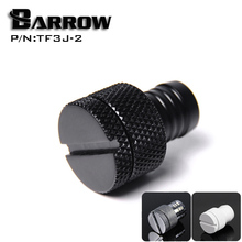"Barrow Black G1 / 4 ""3/8 waterstop interfaces water cooling computer accessories water coolingfitting TF3J-2"