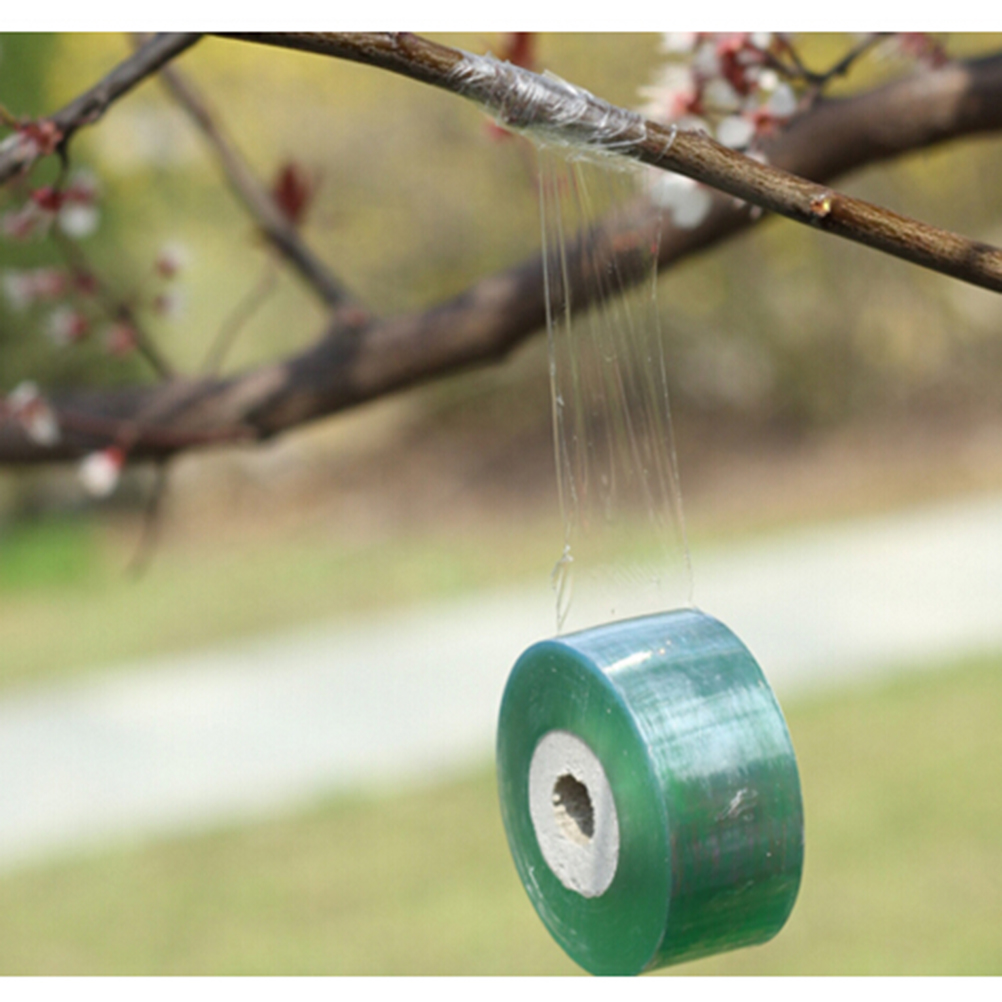 1Roll 00M Nursery Grafting Tape Stretchable Self-adhesive For Garden Tree Seedling hotsale