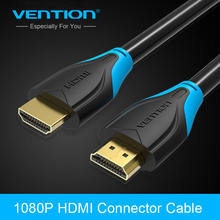 Vention HDMI Cable 1m/2m/3m/5m/8m/10m HDMI Ethernet HDMI to HDMI Connector Adapter Cable 2.0V 1080p 3D for PC HDTV PS3 Projector