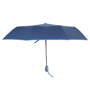 Susino Windproof Umbrellas Fully-automatic Open Sturty Metal  Pongee Compact Durability Three-folding Umbrella 3509