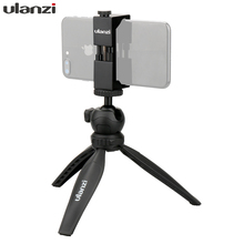 Ulanzi Mini Phone Tripod with removable ball head for iPhone 7plus 6 mobile phone for Nikon Canon GoPro Vlogging Selfie shooting(China)