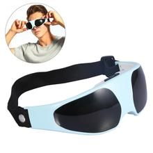Electric Eye Massager Migraine Mask Alleviate Fatigue Forehead Relax Eye Care Massager Health Care Magnetic Therapy Eye Massage(China)