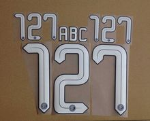 2015-2016 inter home numbering nameset soccer patch soccer badge(China)
