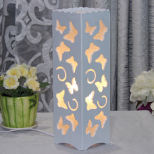 Asian Oriental Japanese Decor Art Contemporary Desk Night Light Lamp Shades 220v E27 table lamps for living room(China)