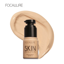 FOCALLURE Brand Professional Makeup Bases for The Face Liquid Mineral Foundation for Dark Skin Full Coverage Foundation BB Cream(China)