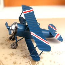 New Arrival Home Decor Artware Craft Figurines & Miniatures Iron Planes Model Small Ornaments