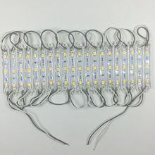 20PCS 5730 3 LED lighting Module for sign DC12V Waterproof superbright smd led modules Cool white / Warm white/Blue/Red color