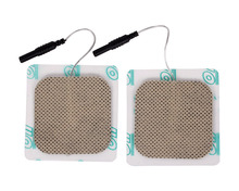 20pcs/lot(10 pairs) 5*5cm Safe Electrode Pads for SDZ-II Electronic Acupuncture Stimulator Therapy Machine Digital TENS Therapy