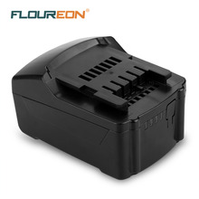 FLOUREON 18V 4000mAh Power Tools Battery for Metabo Drill Li-ion Rechargeable Batteries(China)