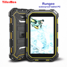 Original Rungee S933 Rugged Tablet PC MTK6735 4G LTE 2GB RAM 16GB 7000mAh IP68 Waterproof Smartphone OTG GPS Android 5.1 13.0MP(China)