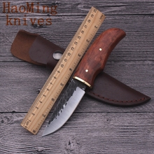 Combat Camping Practical Portable Fixed knives Hunting Tactics Outdoor Survival Rescue Folding Knife Handmade Warfare EDC Tools