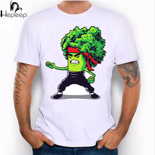 2017 New summer fashion men's short sleeve Bruce Lee T-shirt High Quality cartoon Man Tees cool hipster male Tops funny shirts(China)