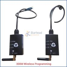 1 Pair Wireless 300M 50mW USB Adapter for Mitsubishi FX PLC, Remote Programming, Replace USB-SC09-FX Cable