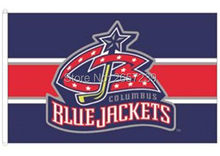 NHLTeamColumbus Blue Jackets lwordmark Flag 3x5FT banner150X90CM 100D Polyester brass grommets custom flag, Free Shipping(China)