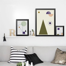 Modern Nordic Abstract geometric image art canvas painting poster prints wall for living room bedroom Home Decor no frame DP0301