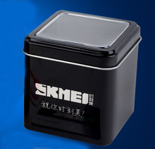 New SKMEI Brand Watches Iron Box Gift Watch BOXES For Men and Women Sports Fashion Quartz Dress Wristwatches(China)