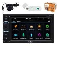 Android5.1 Car Stereo Touch Screen gps DVD Player 2 Din GPS Navigation Car Radio Audio Bluetooth WiFi 1080P Video+Free 3G Dongle