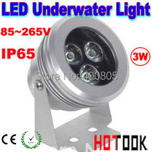 pool lights underwater 3W LED spotlight Underwater IP65 swimming pool marine Licht outdoor lawn lights 85~265V CE & ROHS x 10pcs(China)