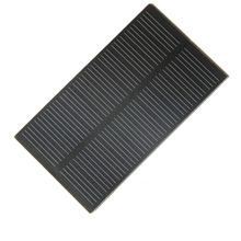 Hot 12PCS/Lot 1W 5V Mini Solar Cell Monocrystalline PET Solar Panel+Cable DIY Small Solar Module System 107*61MM Free Shipping(China)