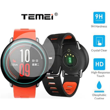 Premium 9H Tempered Glass Screen Protector Skin Film Guard for Xiaomi Huami Amazfit SportsWatch