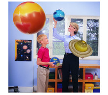 10 Pieces/Set Solar Galaxy Teaching Model Charm Simulation Nine Planets In Solar System Children Blow Up Inflatable Ballon Toys