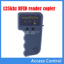 Portable 125khz Reader Writer Copier Duplicater+ 5Pcs T5577/EM4305 125Khz Rfid Writable Keyfobs For Access Control