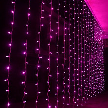 3m * 2.5m 240 bulbs Fairy LED Curtain lights christmas string lights Garland new year luces de navidad wedding decorations
