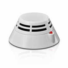 Addressable photoelectric smoke detector security products