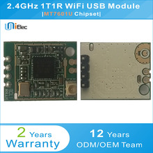 MTK MT7601U 150Mbps 802.11 b/g/n 2.4GHz WiFi wireless WLAN USB Module PCBA Windows Linux Mac Custom Board(China)