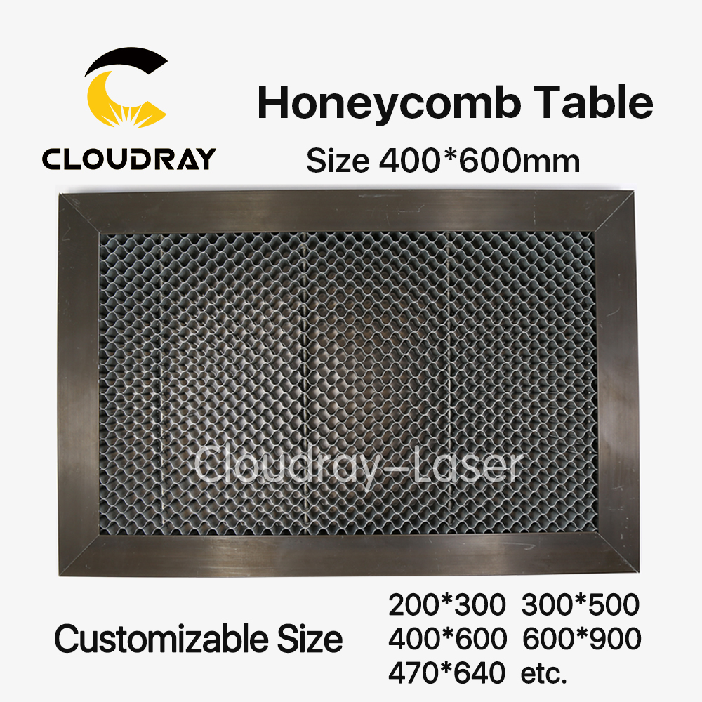 Cloudray Honeycomb Working Table 400*600 mm Customizable Size Board Platform Laser Parts  for CO2 Laser Engraver Cutting Machine<br>