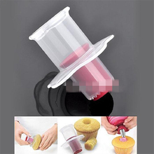 Brand New Eco-Friendly Cake Tools Cupcake Plunger Cutter Creative DIY Cake Corer Decorating Divider