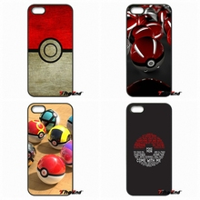 Red White Pokemons PokeBall Ball Toy Art Phone Case For Meizu M3 Lenovo A2010 A6000 S850 K3 K4 K5 K6 Note ZTE Blade V6 V7 V8(China)