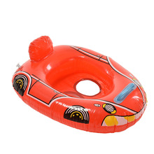 1PCS Seat Float Boat For Water Sports Cute Kids Baby Child Inflatable Swimming Laps Pool Swim Ring Baby Swim Accessories