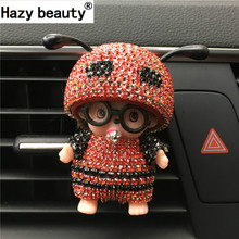 Hazy beauty Car Perfume Glasses Kiki Bee Outlet Perfume The Air Port Ant Antenna Parfum Women Perfume Original Car-styling(China)