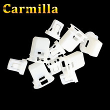 Carmilla 5Pcs/Set ABS Rear Seat Card Buckle Seat Clamp Cushion Clips Fixed Buckle Car Fastener Clip For Chevrolet Cruze Parts(China)