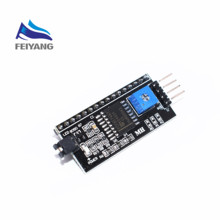 SAMIORE ROBOT Serial Board Module Port IIC/I2C/TWI/SPI Interface Module 1602 LCD Display 1PCS