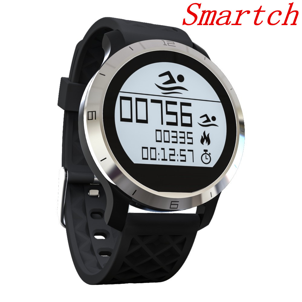 Smartch F69 Waterproof Smart Watch Professional IP68 Swimming Mode Healthy Heart Rate Smartwatch Smart Bracelet IOS Android