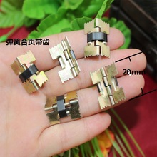 20*18mm Toothed spring hinge Plating color Jewelry box hinge Concealed Hinge Coincide page Wholesale(China)