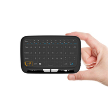 Mini H18 Wireless Keyboard 2.4 G Portable Keyboard With Touchpad Mouse for Windows Android/Google/Smart TV Linux Windows Mac(China)