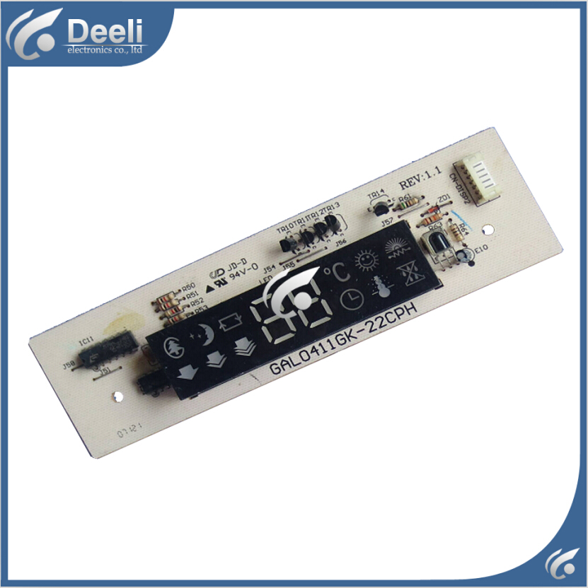 good working for Glanz air conditioning Control panel receiving plate GAL0411GK-22CPH 22CPH 95% new<br>