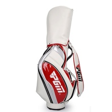 Standard Golf Bag 5 Divisions PU Waterproof Material With Clubs Head Cover