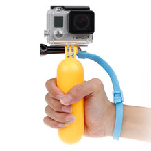 Buy Sj4000 Float Bobber Grip Floating Handheld Monopod Gopro Hero 5 4 3 Sjcam Xiaomi Yi 4k Eken h9 Go Pro Camera Accessories for $2.20 in AliExpress store