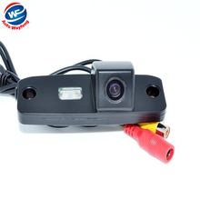 Factory Selling car rear view backup camera rearview parking Camera for KIA Carens Oprius Sorento Borrego Kia ceed HD CCD Camera(China)