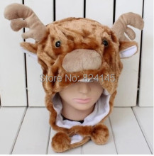 Animal hat Goat Plush Caps Touca Gorro Hat&Skullies & Beanies(China)