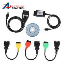 For Fiat ECU Scanner Diagnostic Tool For FIAT ECU Programmer With Full Set 5PCS Cables Support For Alfa Romeo & Lancia